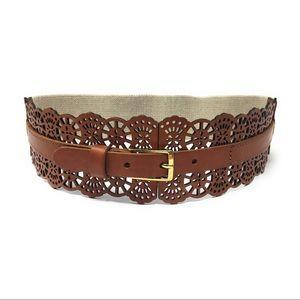NWOT Hinge Genuine Leather Boho Waist